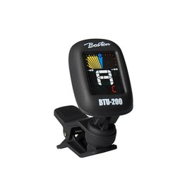 Boston  Boston chromatische clip-on tuner (ook G+B+U+V) full colour display BTU-200