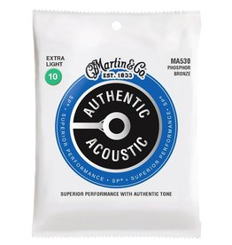 Martin & Co MA530| Martin Authentic Acoustic string set phosphor bronze
