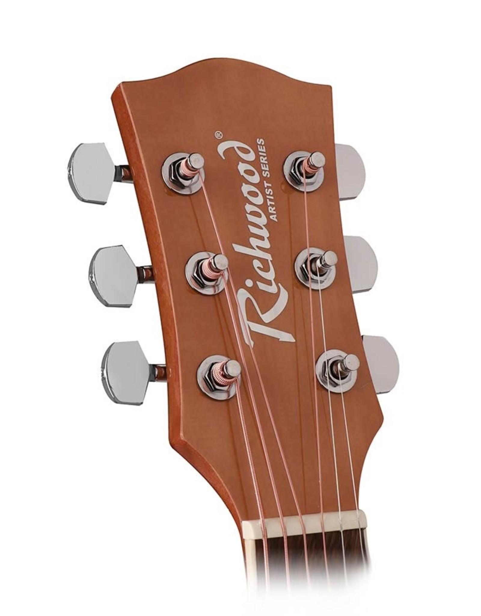 Richwood  RD-12-CE | Richwood Artist Series akoestische gitaar