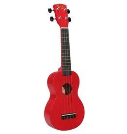 Korala UKS-30-RD| Korala sopraan ukelele met gitaarmechanieken