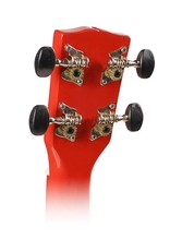 Korala UKS-30-RD  Korala sopraan ukelele met gitaarmechanieken