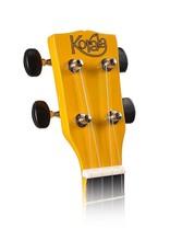 Korala UKS-30-YE| Korala sopraan ukelele met gitaarmechanieken