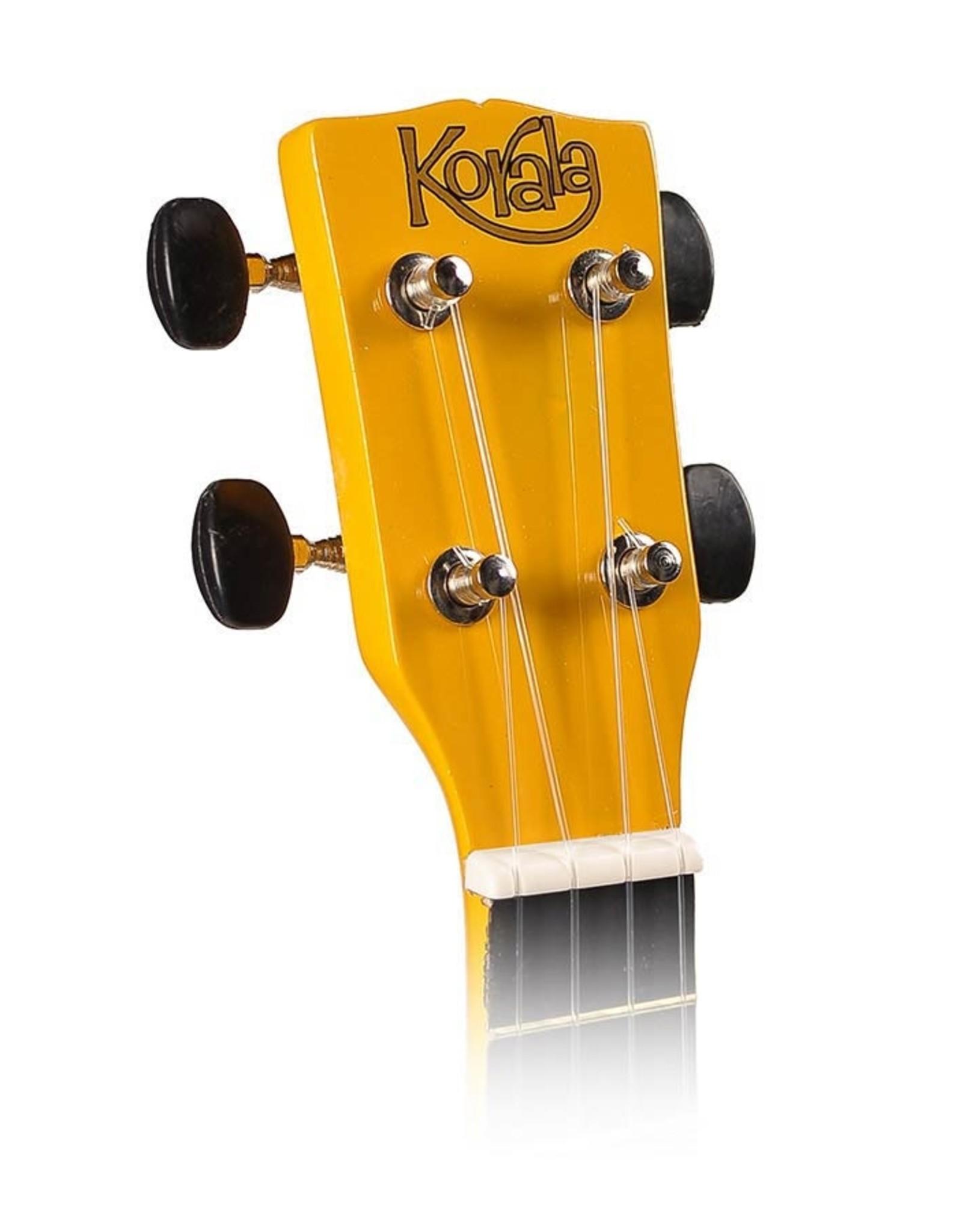Korala UKS-30-YE  Korala sopraan ukelele met gitaarmechanieken