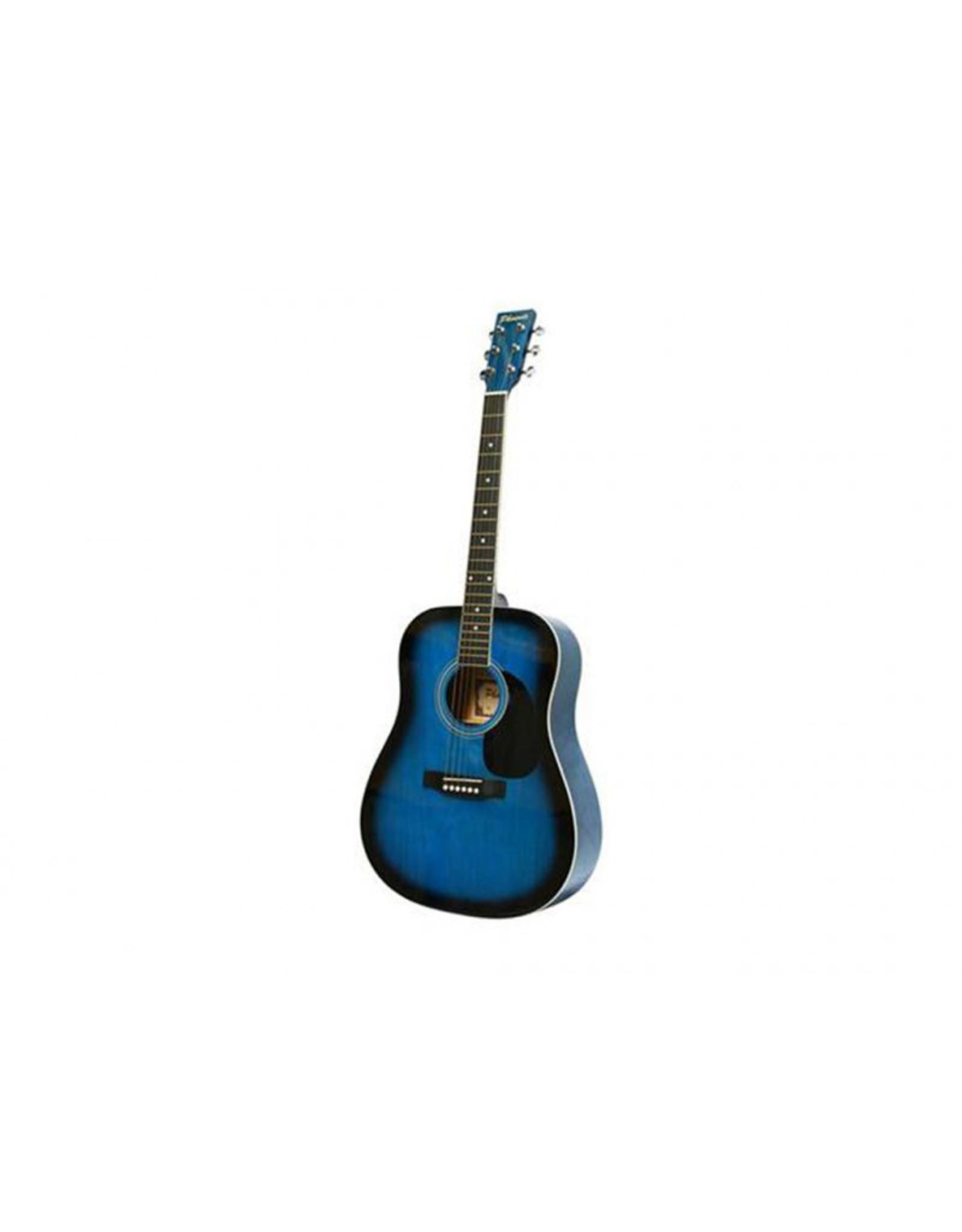 Phoenix Phoenix Western Guitar 001 Blue Sunburst