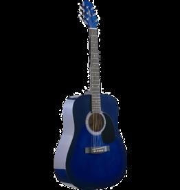 Stagg Stagg Akoestische gitaar / SW-201-BLS