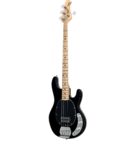 Sterling by Music Man Sterling by Music Man StingRay Ray4 Black elektrische basgitaar