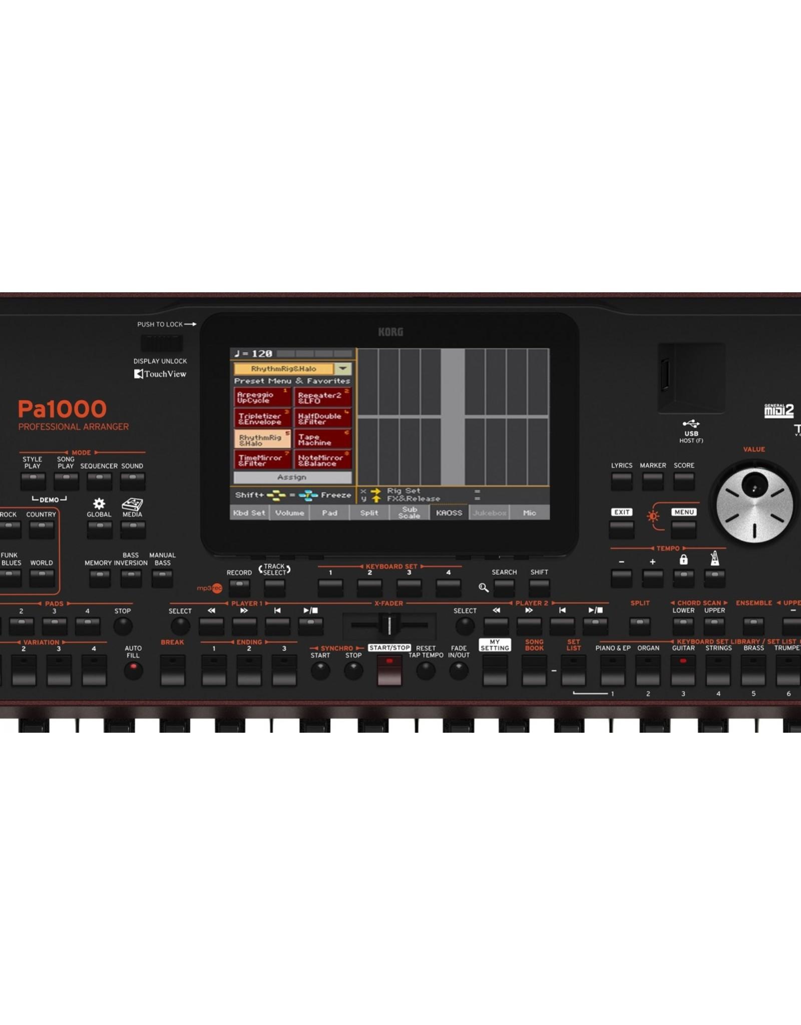 Korg Korg PA1000 professioneel arranger keyboard