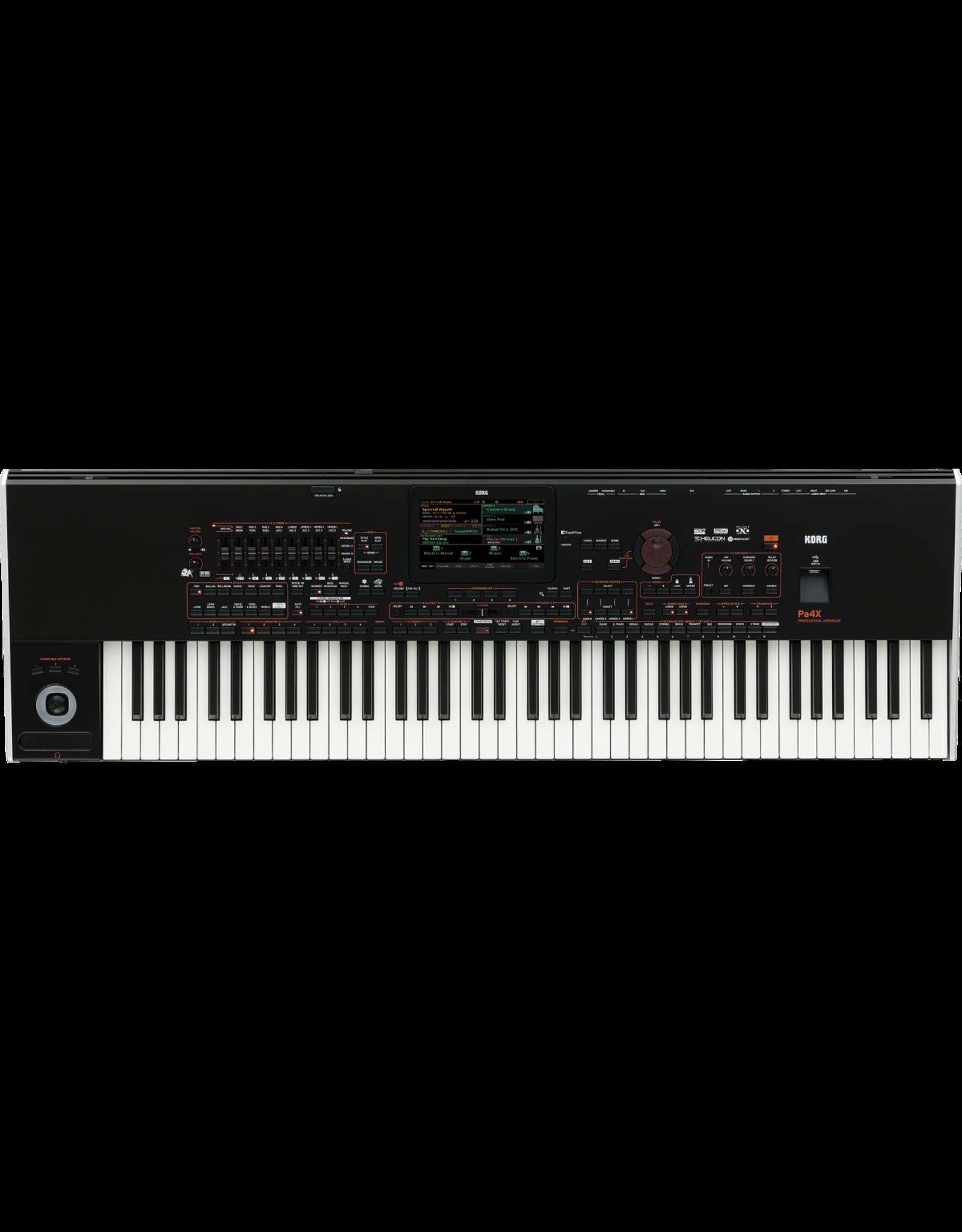 Korg PA4x NEXT ORIENTAL 76 toetsen Korg professioneel arranger keyboard