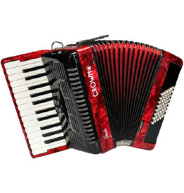 Crown Sonata Series accordeon / CS-4826-RD