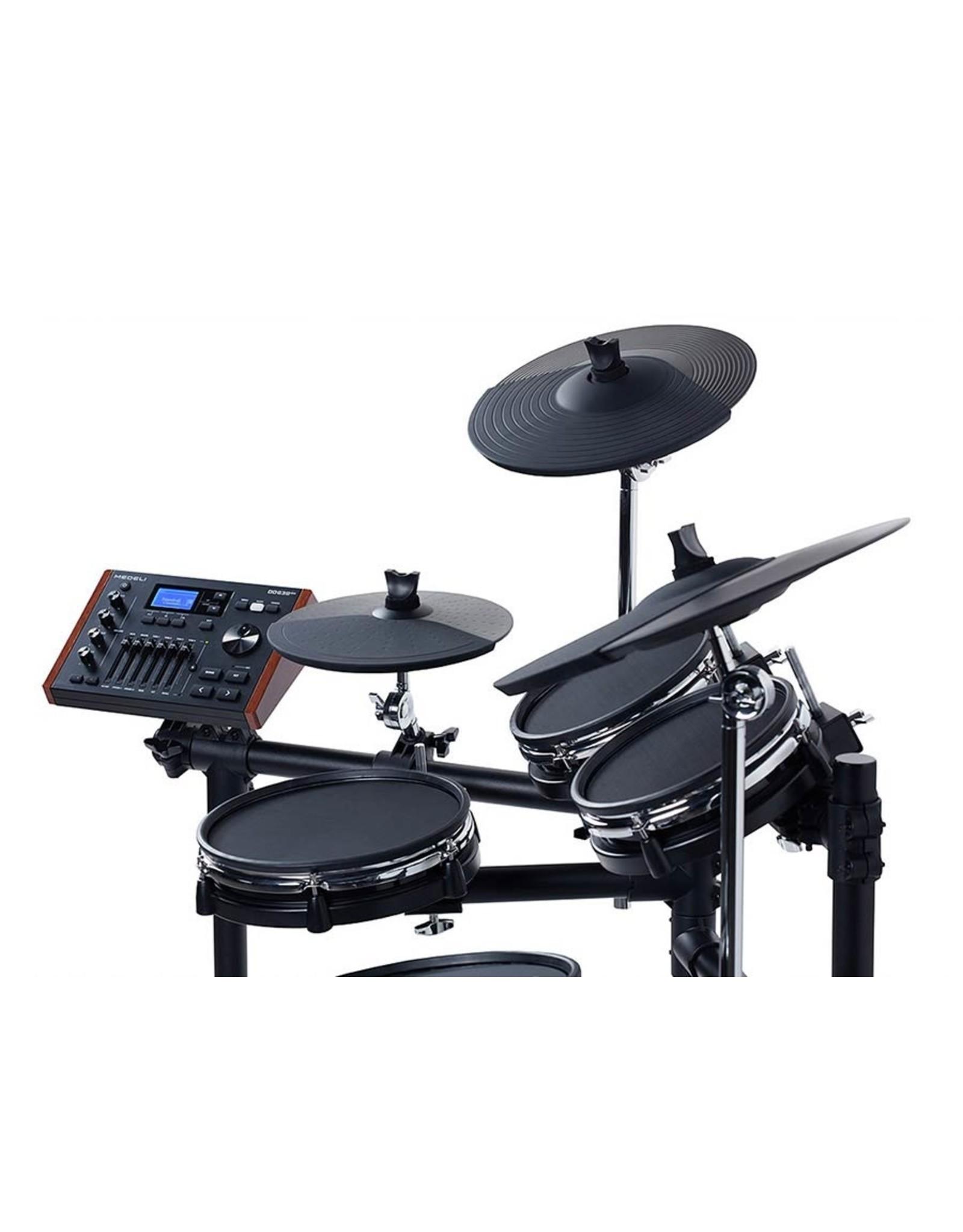 Medeli DD638DX| Medeli digital drum kit all dual zone with mesh heads 10S-8-8-10-8K
