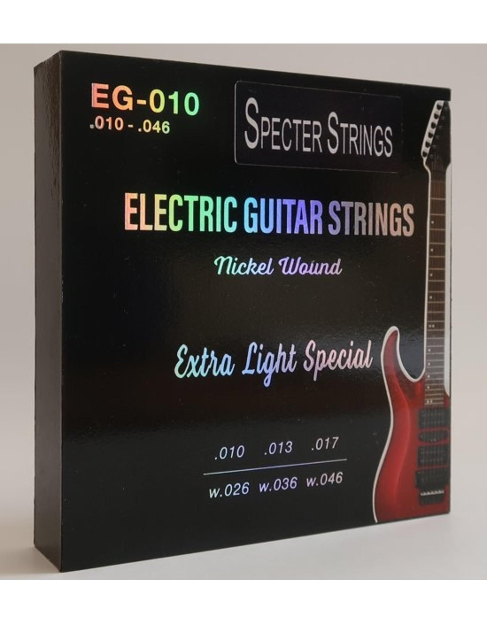 Specter Strings Specter Strings professionele snaren voor de elektrische gitaar set .010 Nickel - snarenset