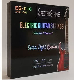 Specter Strings Specter Strings professionele snaren voor de elektrische gitaar set .010 Nickel - snarenset