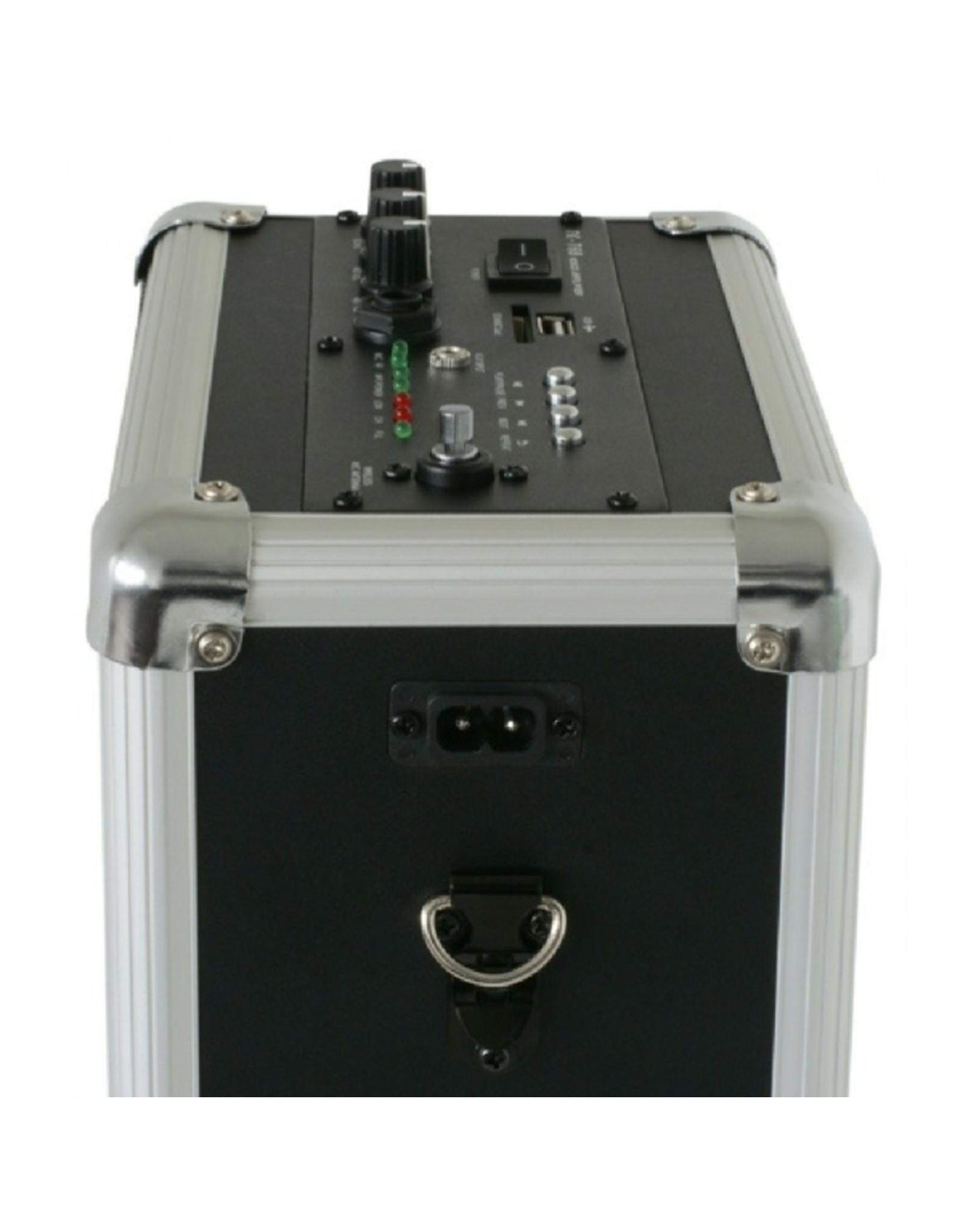 Skytec ST-030  Mobiele Geluidset 50W/USB/SD/VHF