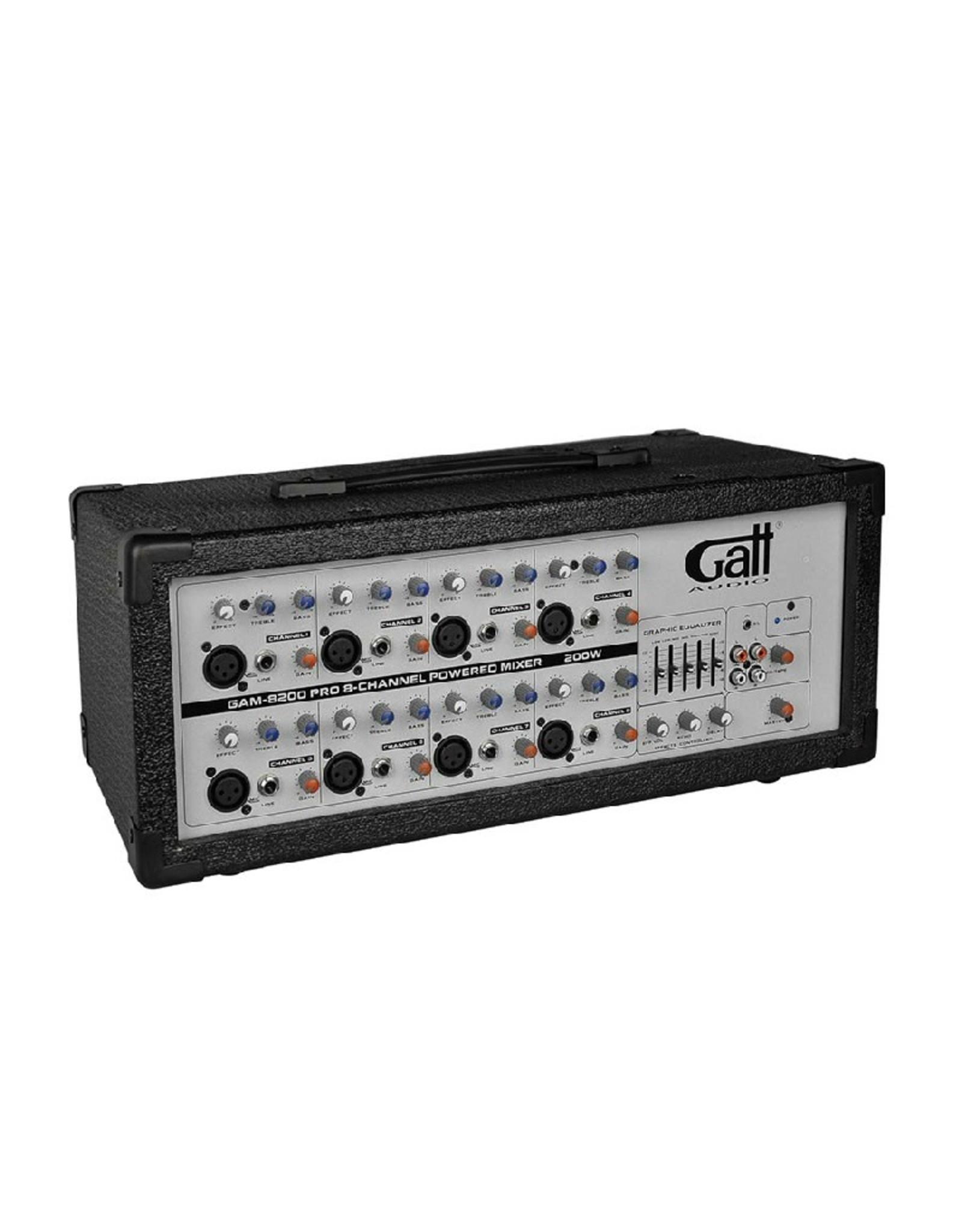 Gatt Audio powered mixer 200W mono / GAM-8200