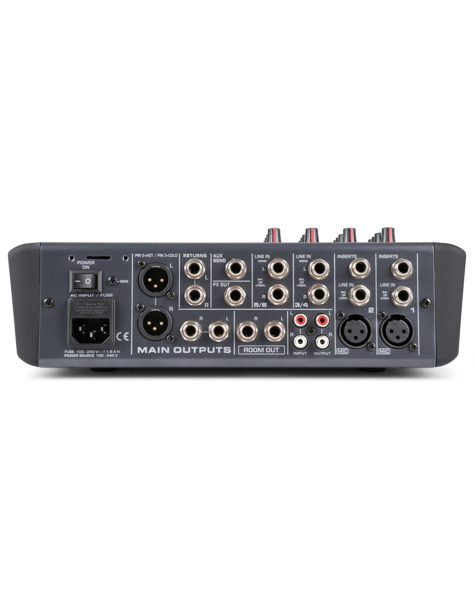 Power Dynamics Power Dynamics PDM-S604 6-Kanaals Professionele Analoge Mixer