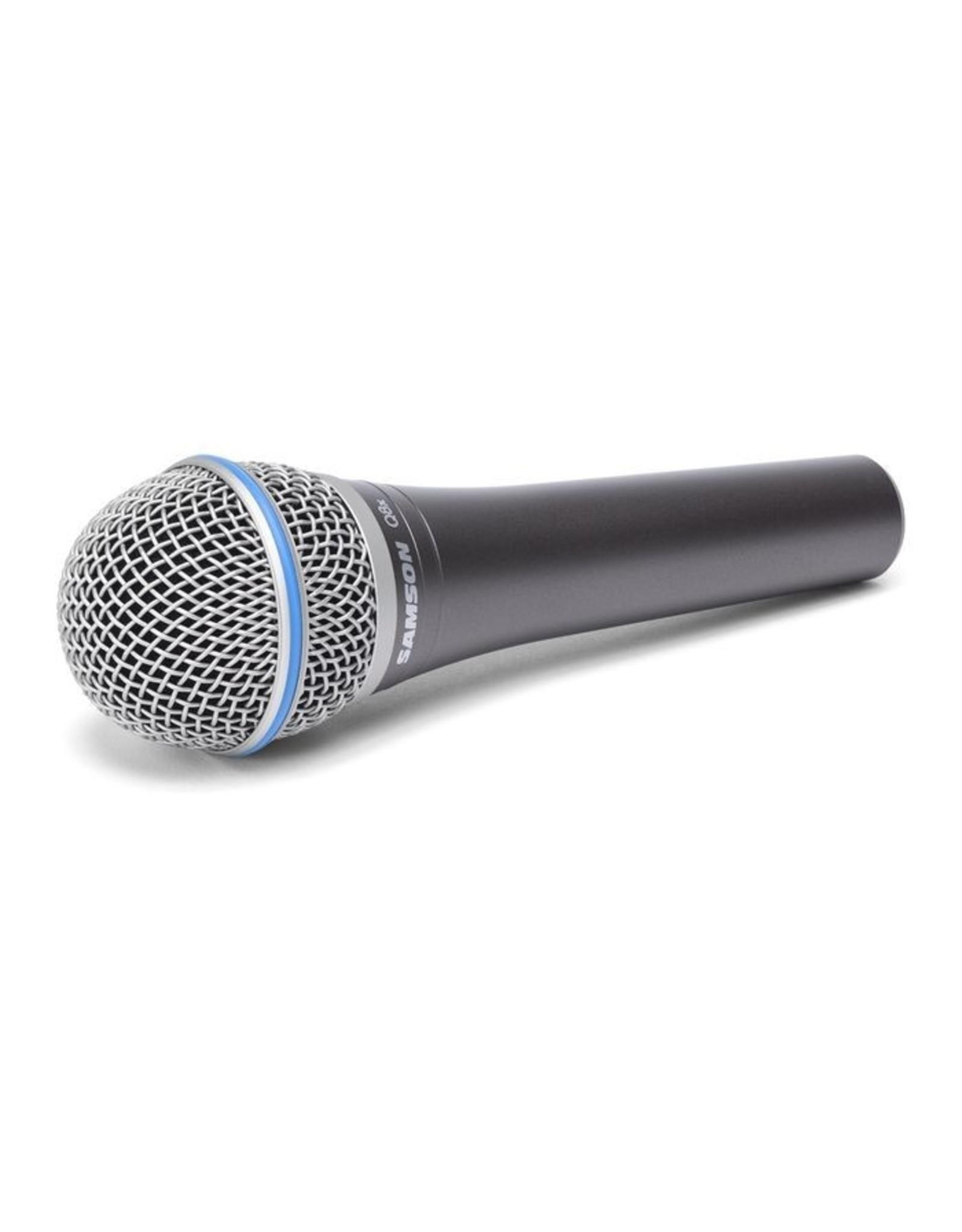 "Samson Q8xProfessionele ""high sensitivity"" dynamische zang microfoon"