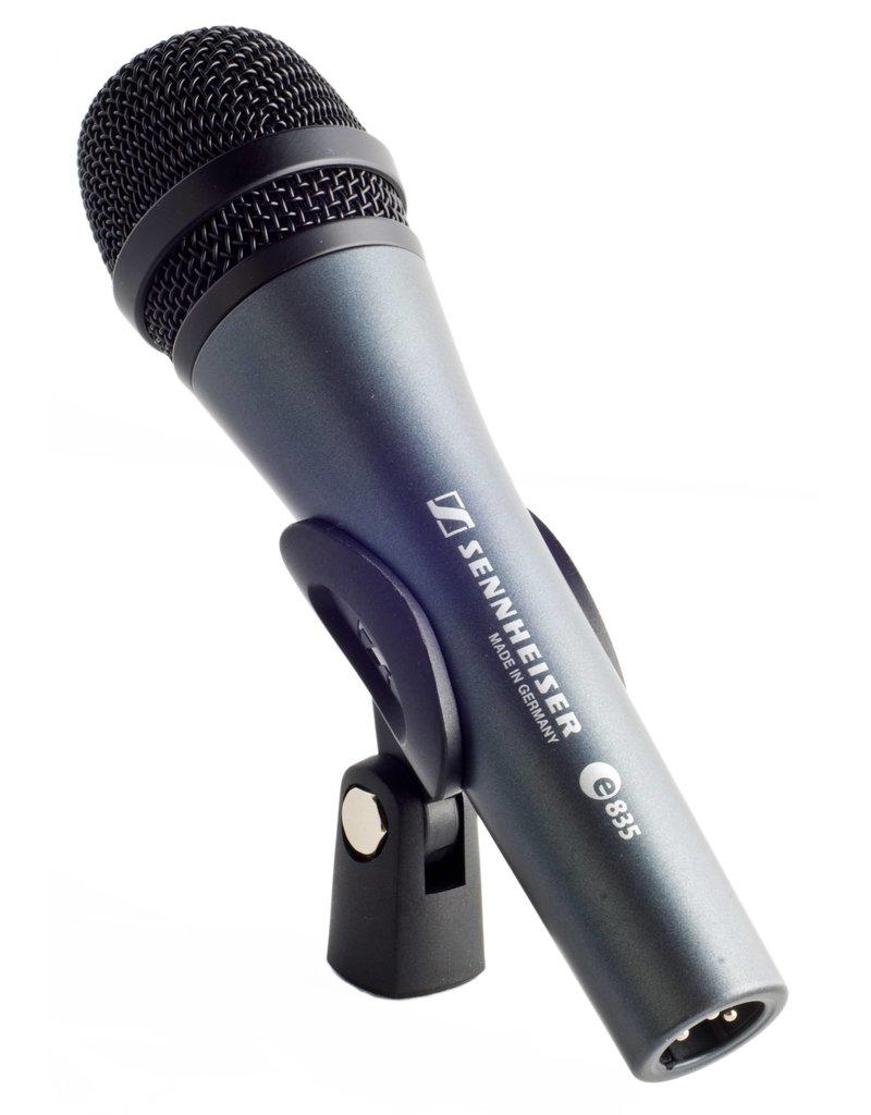 Sennheiser      e835  Sennheiser Evolution Series dynamische cardioïde zangmicrofoon