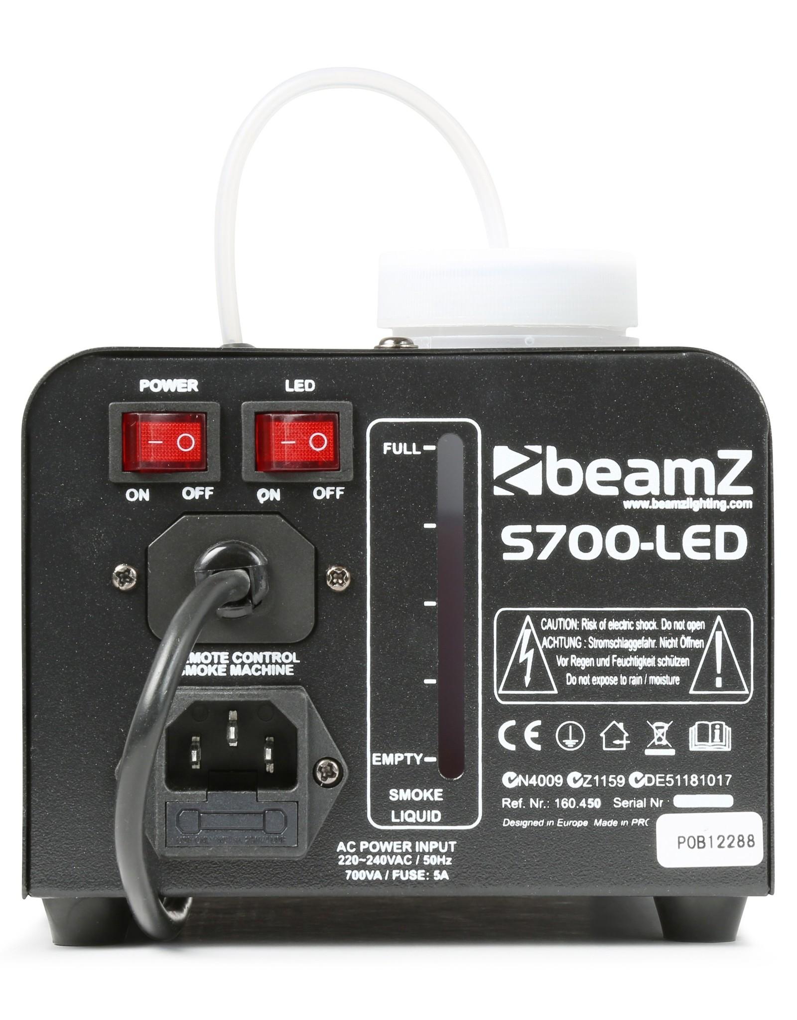 Beamz Beamz S700LED Rookmachine met ijsvormig effect
