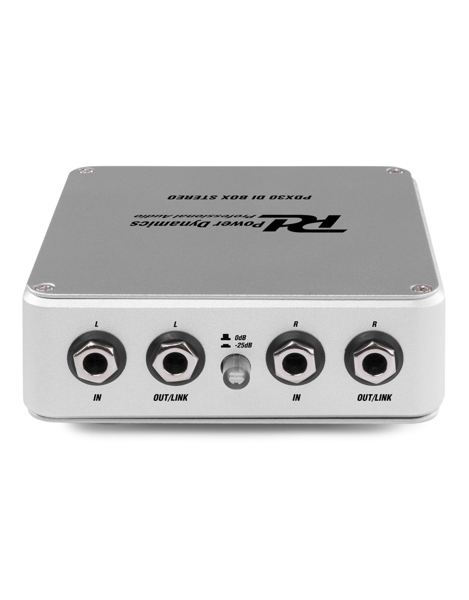 Power Dynamics Power Dynamics PDX30 Actieve DI BOX Stereo