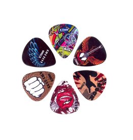 Boston  BRP6-073| Boston Rock Picks plectrum 6-pack