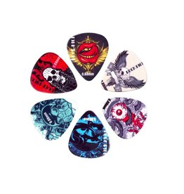 Boston  BRP6-088| Boston Rock Picks plectrum 6-pack