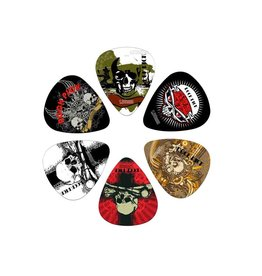 Boston  BRP6-100| Boston Rock Picks plectrum 6-pack