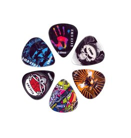 Boston  BRP6-MIX| Boston Rock Picks plectrum 6-pack