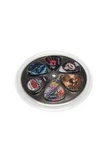 Boston  BRP6-MIX| Boston Rock Picks plectrum 6-pack