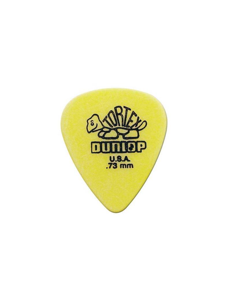 Dunlop 418-R-73| 4x Dunlop Tortex Standard 0.73 mm. plectra
