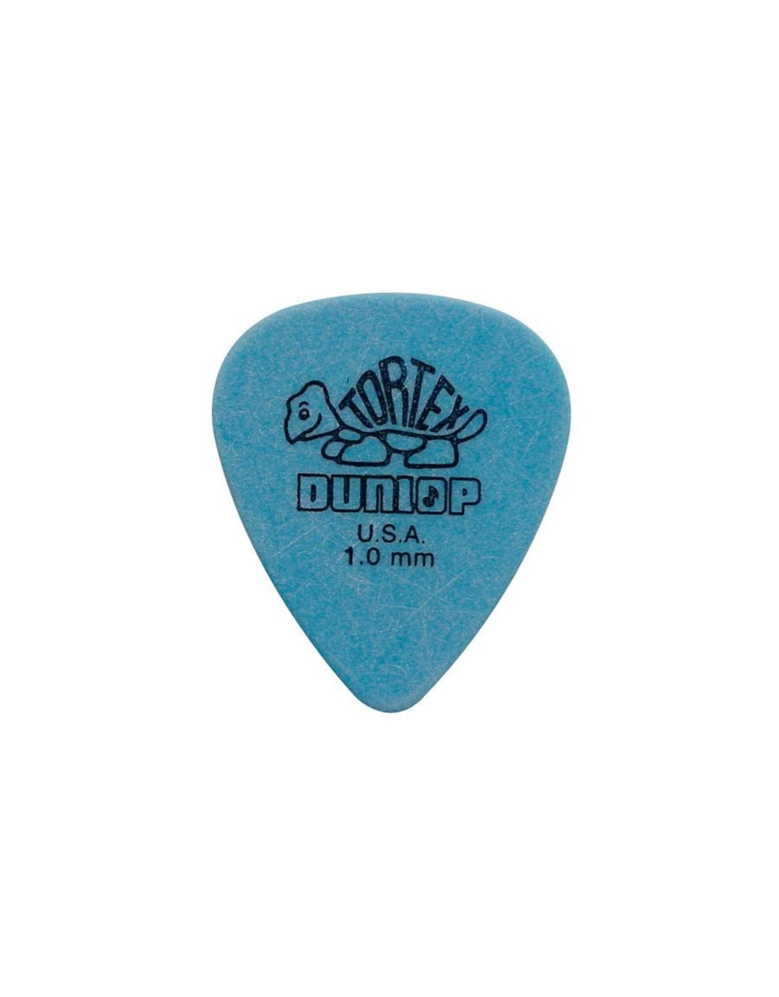 Dunlop      418-R-100| 4x  Dunlop Tortex Standard 1.00 mm. plectra