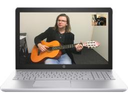 Muziekles via het internet