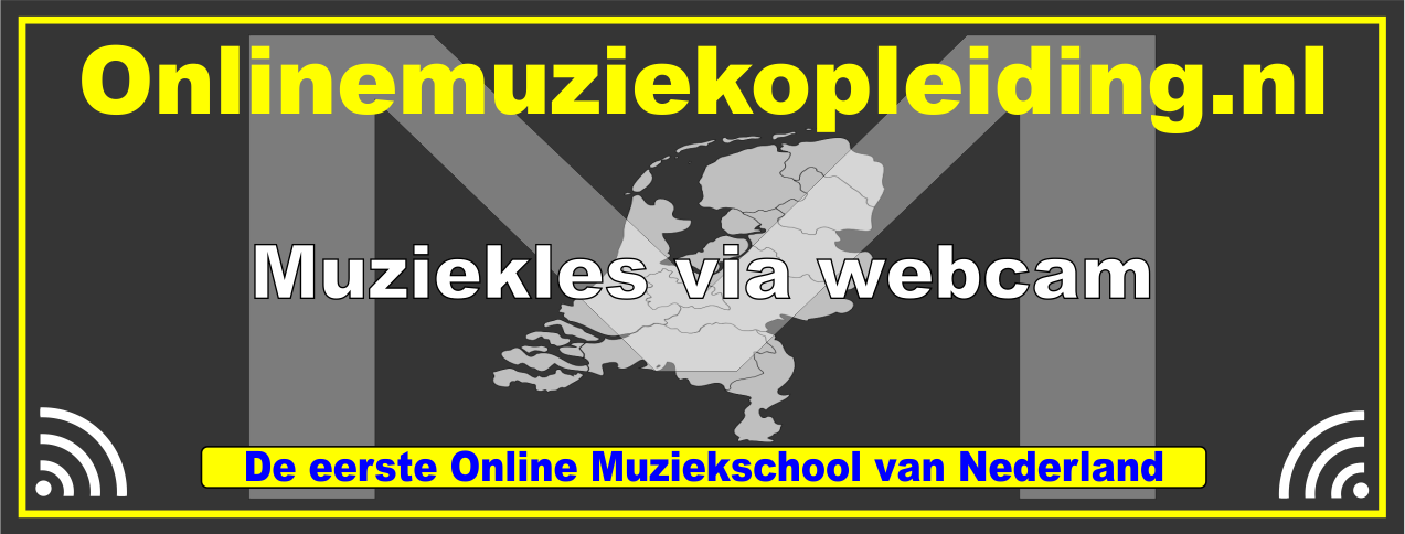Logo Online muziekopleiding