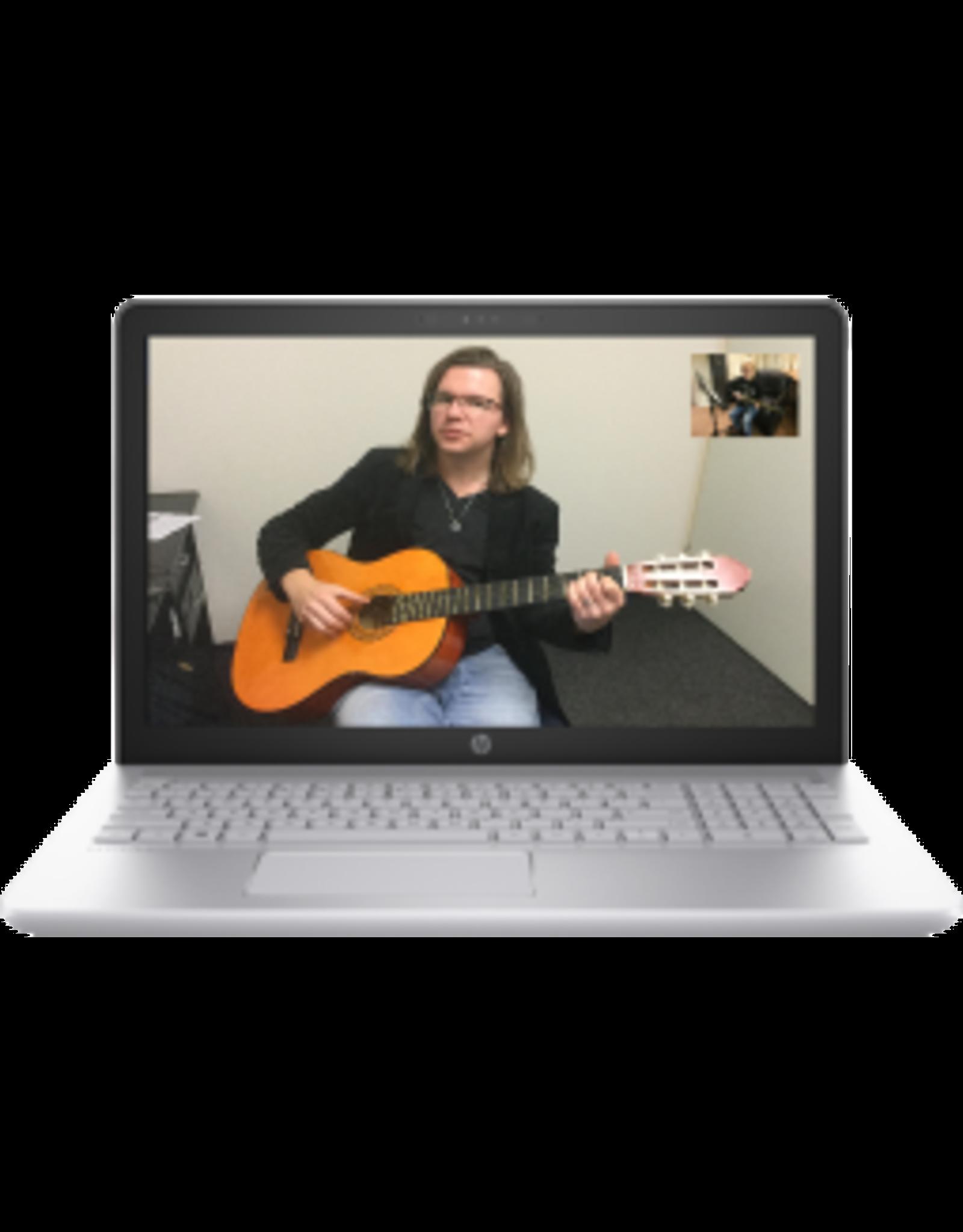 Online Muziekopleiding Gitaarlessen onder de 21 jaar door Online Muziekopleiding, muziekles via je webcam