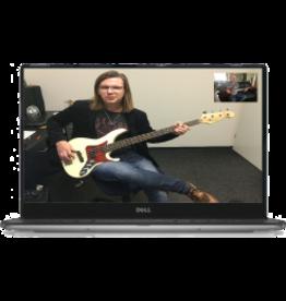 Online Muziekopleiding Basgitaarlessen boven de 21 jaar Online Muziekopleiding