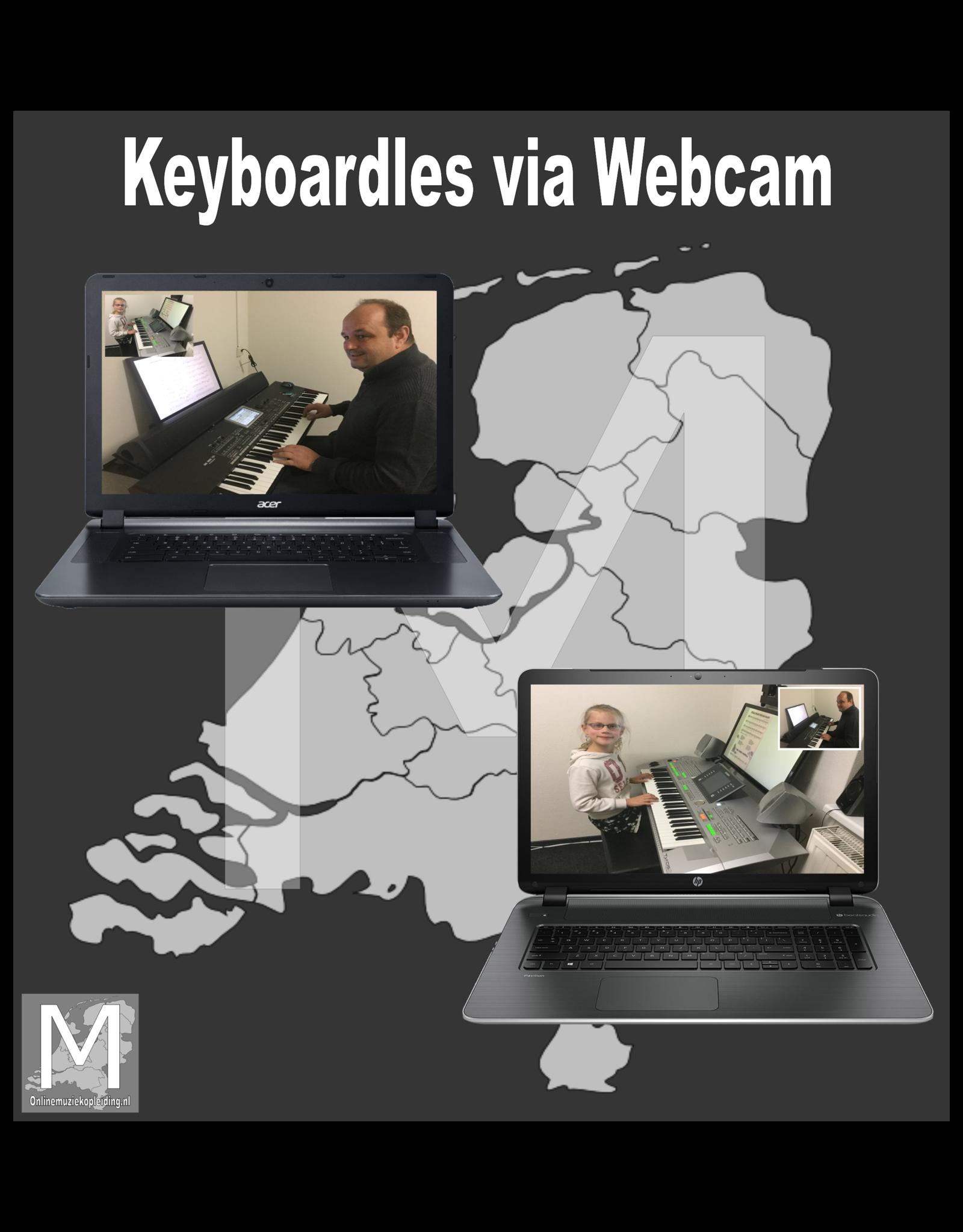 Online Muziekopleiding Keyboardlessen onder de 21 jaar Online Muziekopleiding