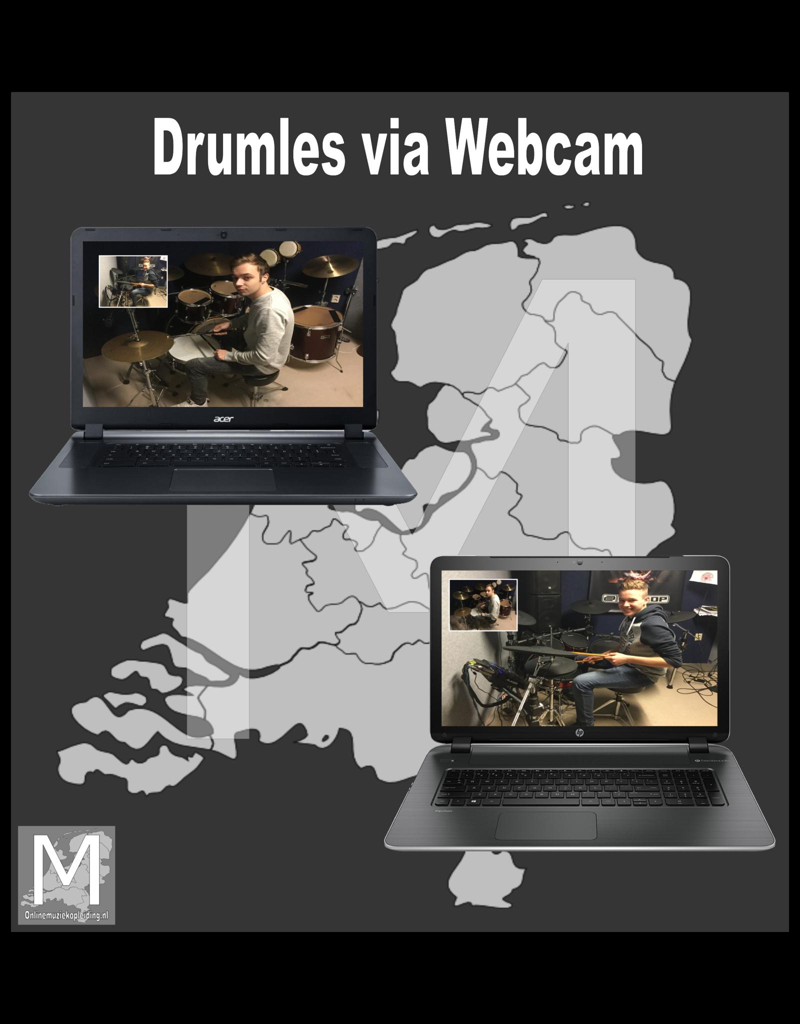 Online Muziekopleiding Drumlessen boven de 21 jaar Online Muziekopleiding