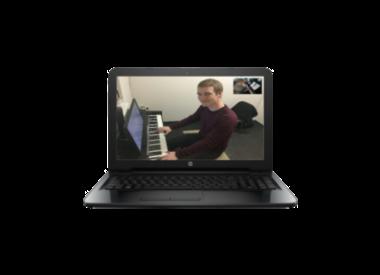 Keyboardlessen/Piano Online Muziekopleiding