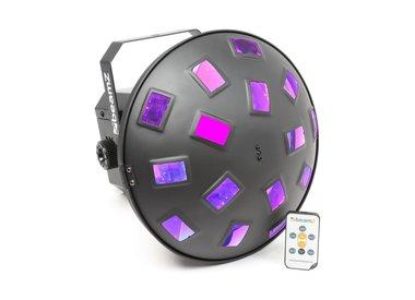 Lichteffecten en effectmachines
