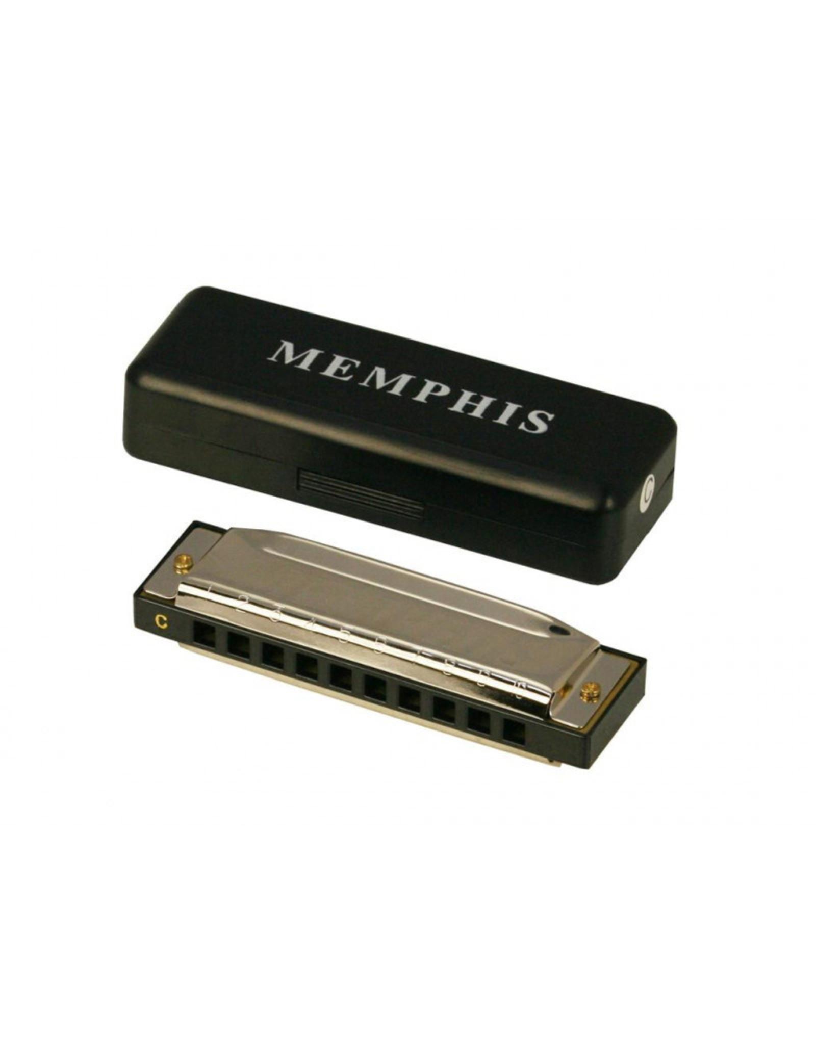memphis Memphis mondharmonica C  10 gaats 20 tonen