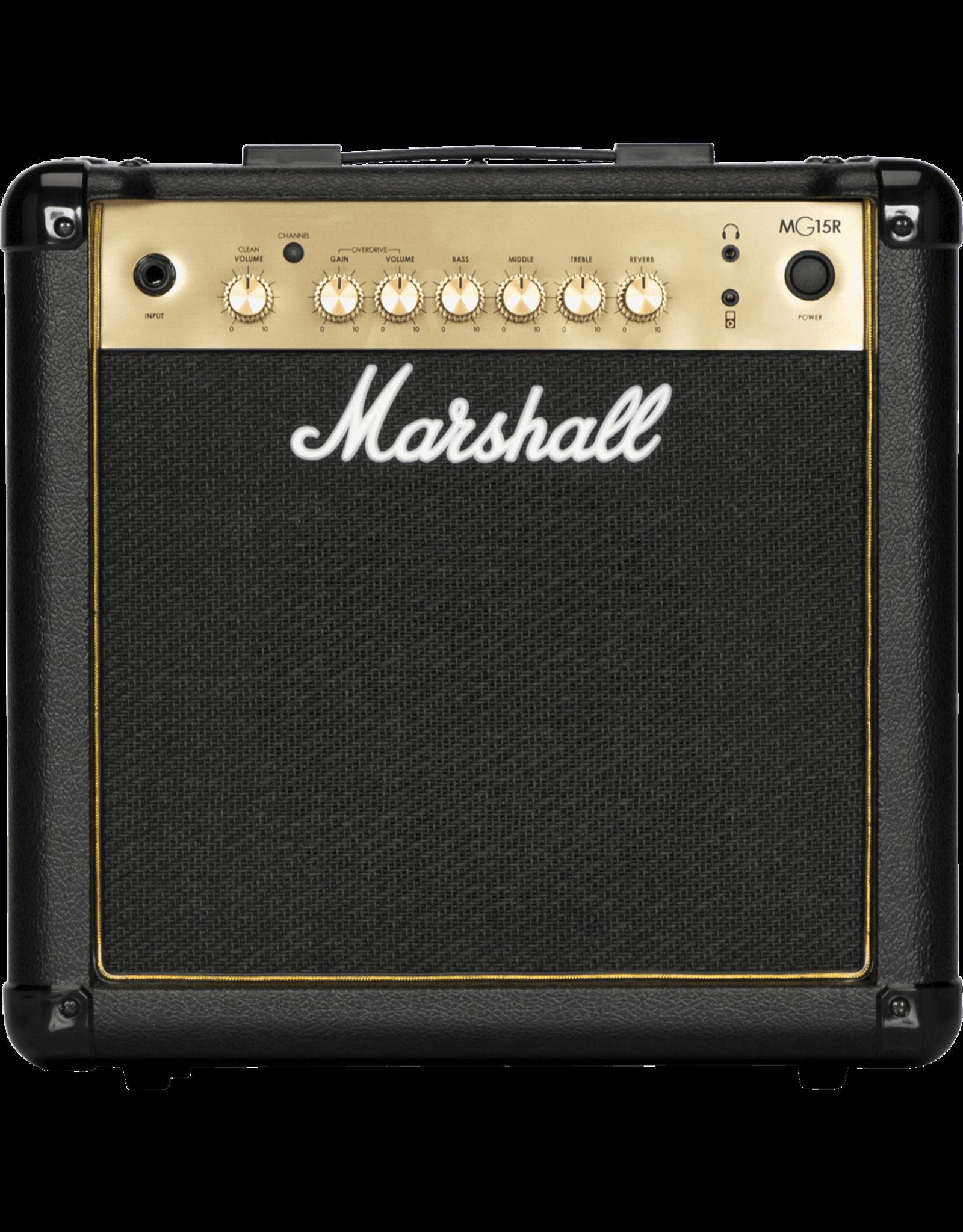 Marshall Marshall MG15GR gitaarversterker MG GOLD - Combo 15W met reverb