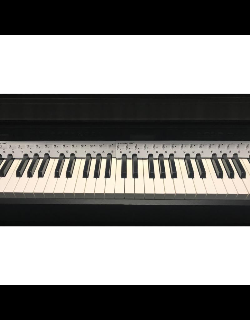 Specter Specter Keycard | Kaart met muzieknoten voor je piano of keyboard