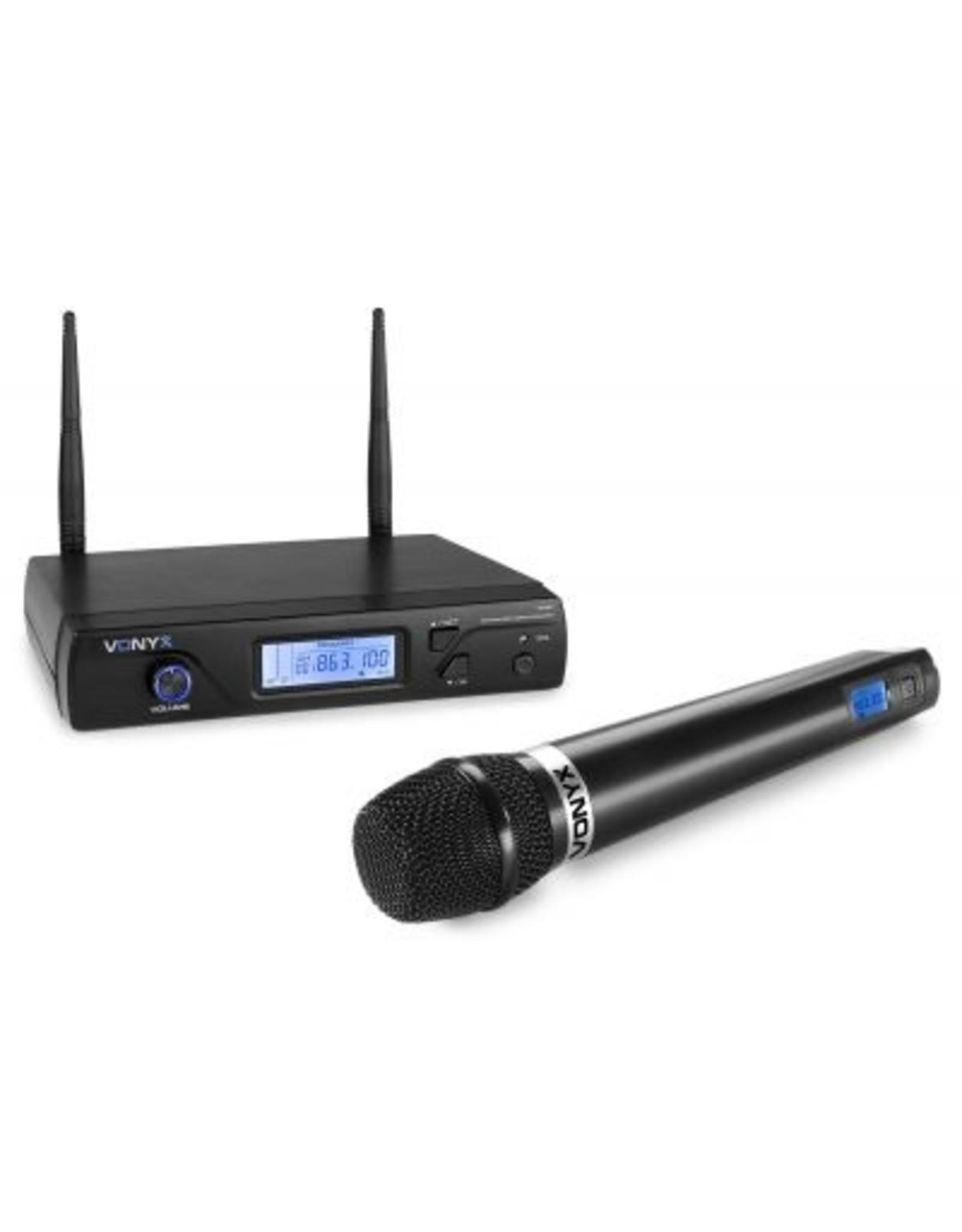 Vonyx Vonyx WM61 draadloze microfoon UHF - 16 kanaals