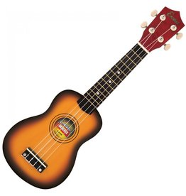 Encore Encore sopraan ukulele sunburst