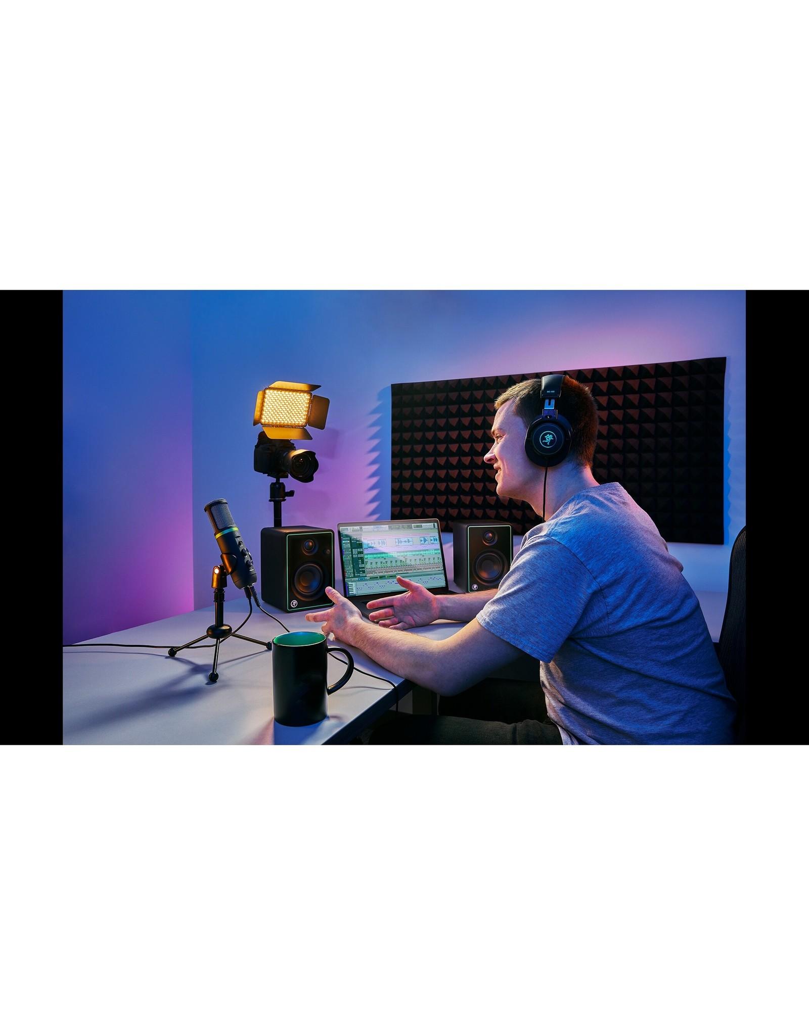 mackie Mackie Creator Bundle  podcasters, streaming