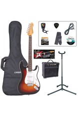 Encore Elektrische Encore gitaar pack met Stemapparaat | Gitaarversterker | Gitaarstandaard | gitaartas | Gitaarband | Zelfstudie DVD