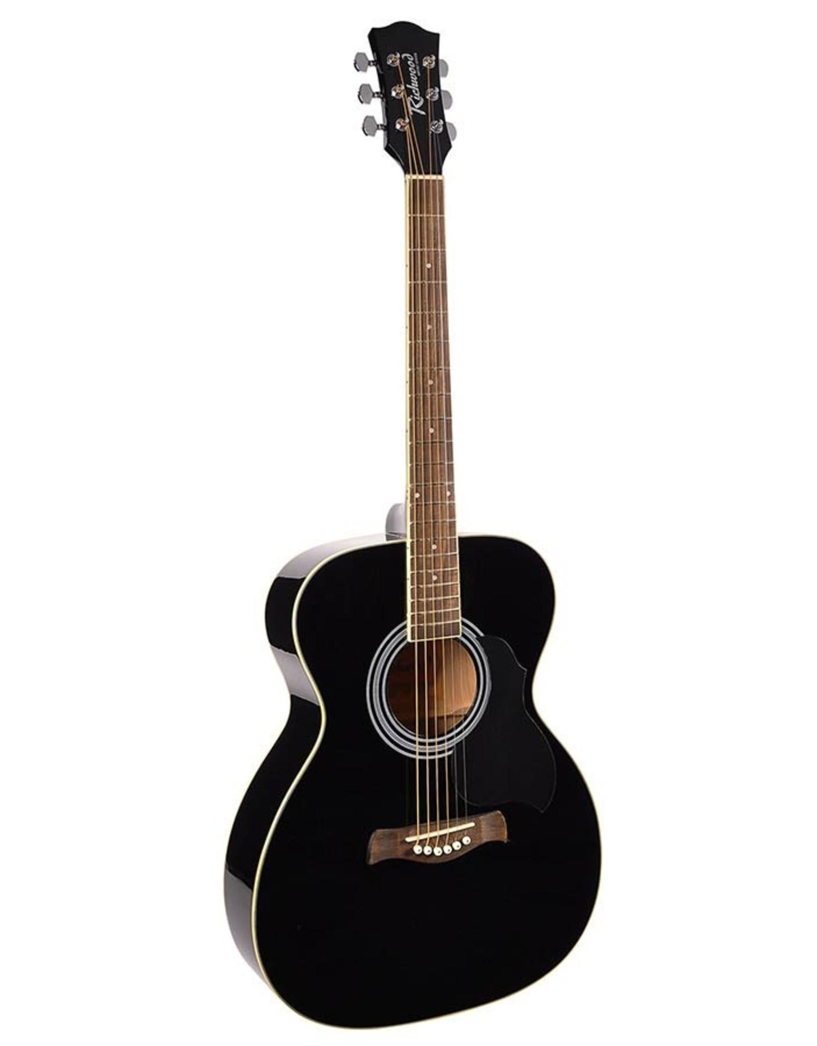 Richwood  Richwood Zwarte Akoestische gitaar RA-12-BK