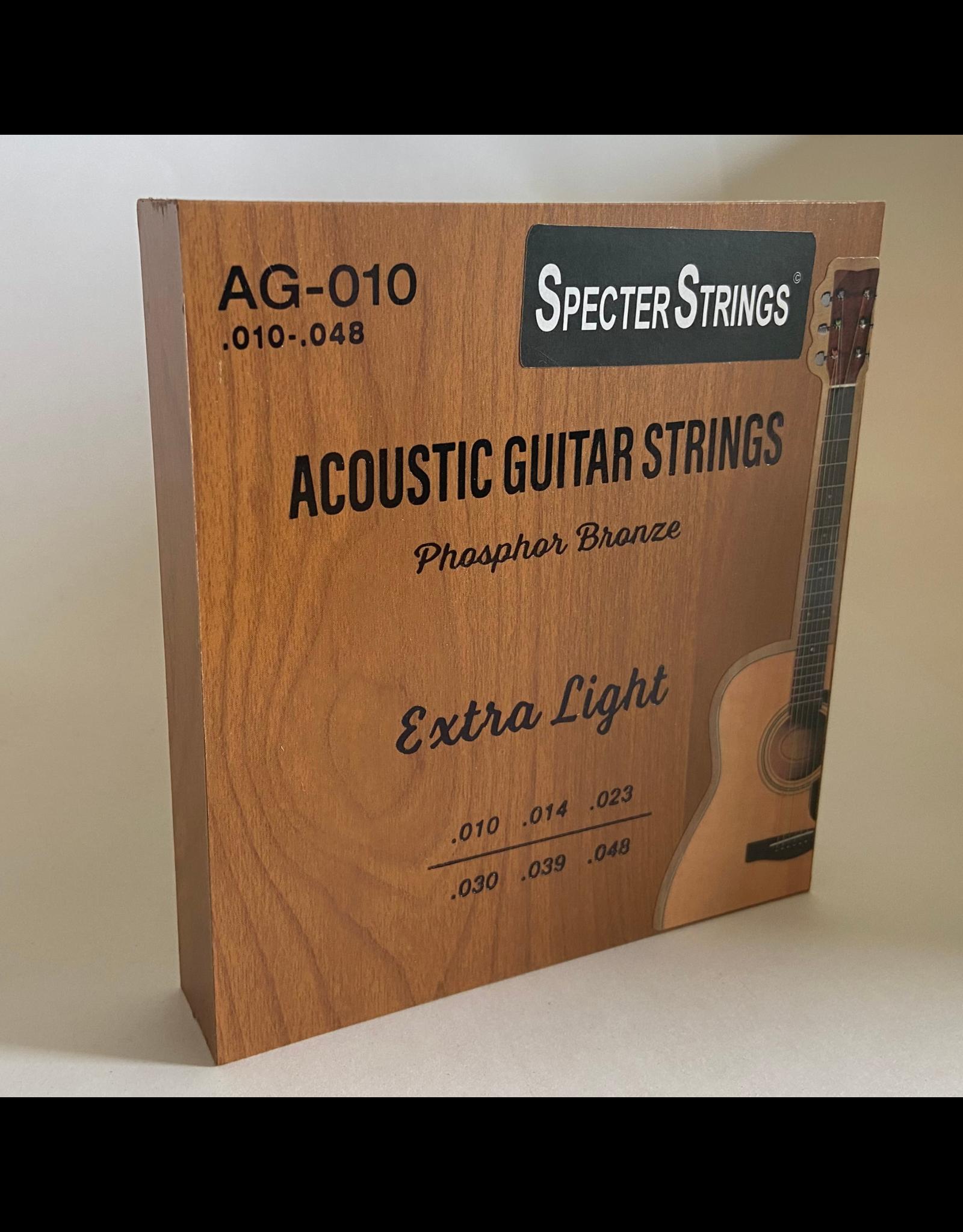 Specter Specter Strings professionele snaren voor de akoestische gitaar (western gitaar) set .010 Bronze - snarenset