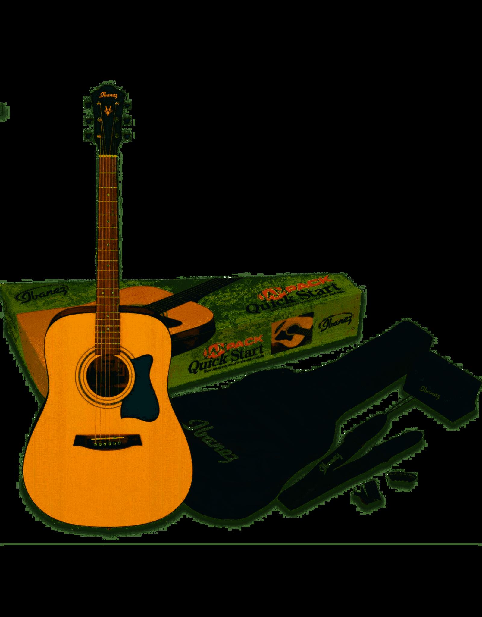 Ibanez Ibanez akoestische gitaar pack naturel