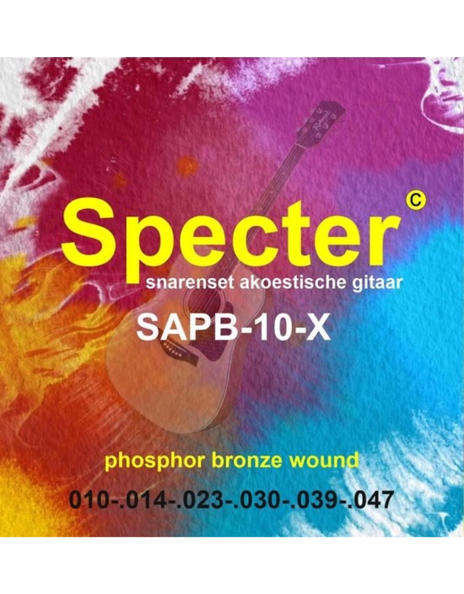 Specter Specter Strings premium professionele snaren voor de Akoestische Gitaar | Akoestische snarenset | Stalen snaren | Western gitaar