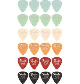 Fender Fender Dura Tone Plectrum set 24 stuks